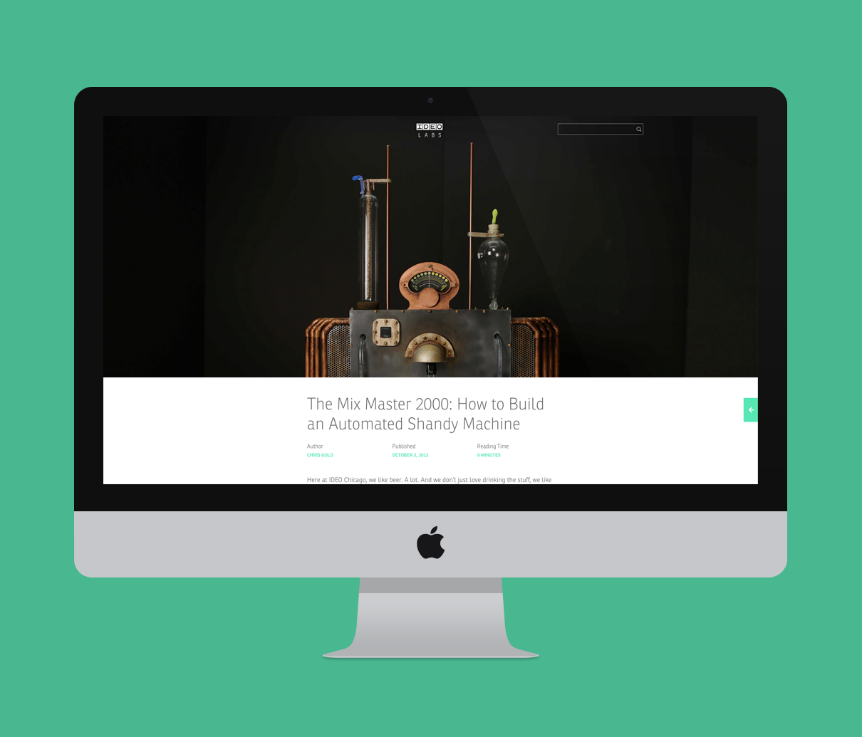 Design ideo product resume for Ideo products